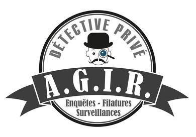 Logo A.G.I.R. Détective Privé