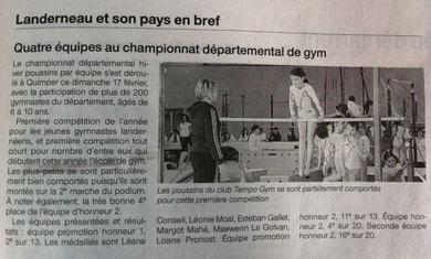 Ouest-France du 22 fév. 2013