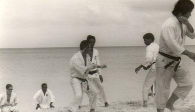 Strandtraining Aruba 1968
