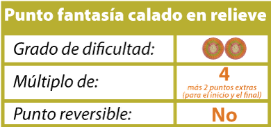 punto fantasia relieve tejiendoperu.com