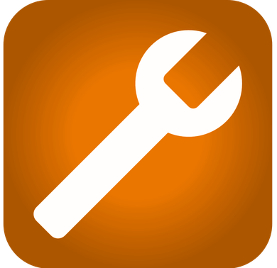 icone pour réparation de matériel BTP