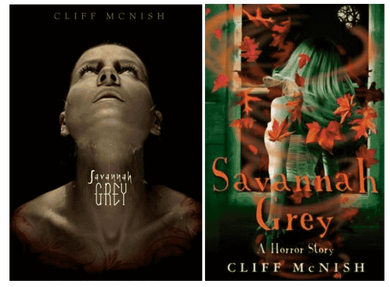 Savannah Grey, US and UK covers