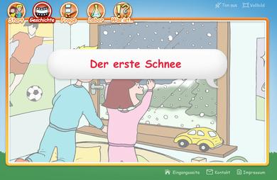 """Geschichte """"Der erste Schnee"""" in Nelas Welt"""