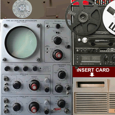 EDSAC computer console