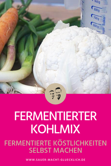 fermentierter Kohlmix