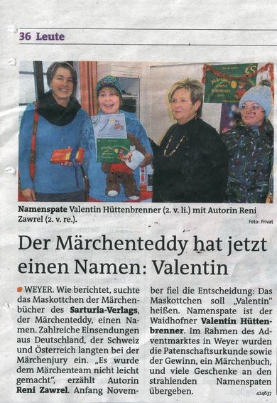 Bezirksrundschau Steyr vom 13./14.12.2012