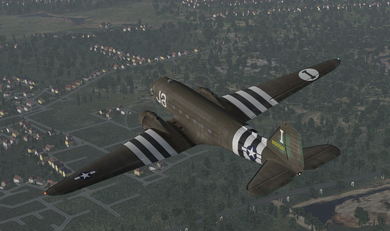 Aeroworx DC-3 Ingame X-Plane 11