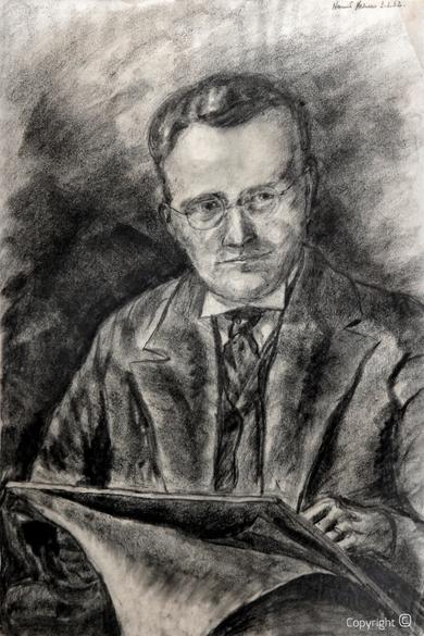 Hanns Heinen (1895-1961): Selbstbildnis, 1933