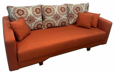 Print Amany Terra (подушки) + Hilton 23 terra (сиденье)