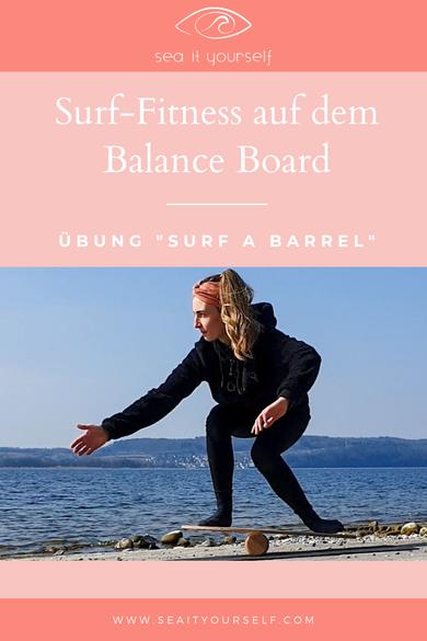 Surf-Fitness mit dem Balance Board