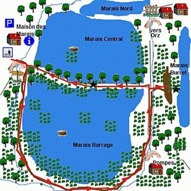 le tour du Marais Barrage