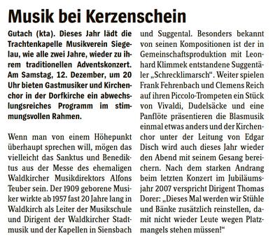 Elztäler Wochenbericht vom 10.12.2009