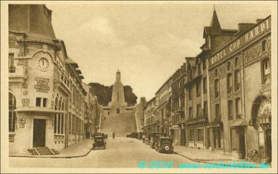 Verdun - Blick auf das Siegesdenkmal