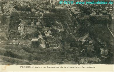 Verdun Panorama - Zitadelle und Kathedrale
