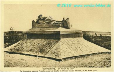 Soldat du droit - Douaumont
