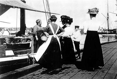 Apfelfahrt ca. 1924
