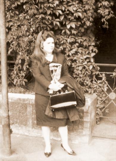 Bettina on the way to Algeria, 1964