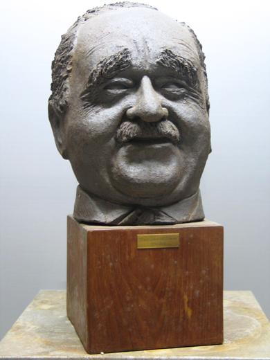 Ruth Nossenheim (1914-1989): bust of Erwin J. Bowien, 1970