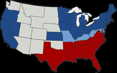Map of the Civil War