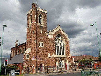 Former St Paul's Church. Image by John Horton/ Row17 on Geograph reusable under Creative Commons licence Attribution-ShareAlike 2.0 Generic (CC BY-SA 2.0). See Acknowledgements.