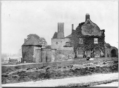 Hockley Abbey in 1868. Image reproduced with the kind permission of Dr Ian Cawood, Newman College Local History website.