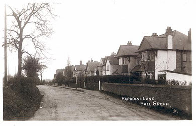 Paradise Lane 1940. Image, now free of copyright, downloaded from the late Peter Gamble's now defunct Virtual Brum website.