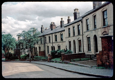 Lee Crescent photographed in 1953 by Phyllis Nicklin  - see Acknowledgements, Keith Berry.