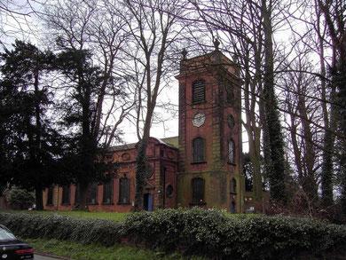Castle Bromwich Church - north elevation