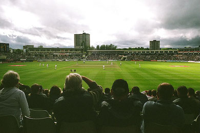 Edgbaston Cricket Ground June 2006 by pikesville on flickr - Creative Commons Licence: Attribution-Non-Commercial-Share Alike 2.0 Generic