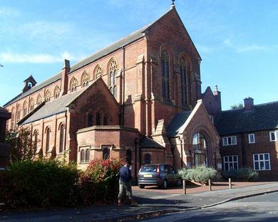 All Saints', formerly St Aidan's Church