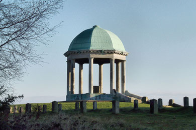 Photograph of Barr Beacon Monument by DP-J on flickr, copying permitted under Creative Commons Licence: Attribution-Non-Commercial-No Derivative Works 2.0 - see Acknowledgements.