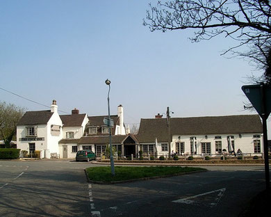 The Cock Inn, usually known as the Cock at Wishaw