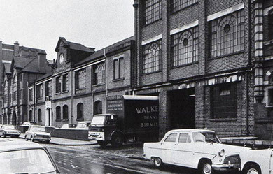Chad Valley factory , Harborne in the 1960s. Image from Terry Morris on flickr, reusable under Creative Commons licence  Attribution-NoDerivs 2.0 Generic (CC BY-ND 2.0)