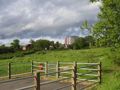 View towards Walkers Heath from Longdales Road.Geograph OS reference SP0577 © Copyright David Stowell and licensed for reuse under a Creative Commons Licence Attribution-Share Alike 2.0 Generic.