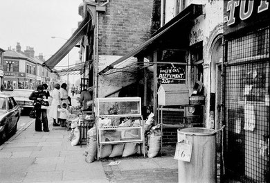 Lozells Road 1960s. Image reproduced with the kind permission of the late Keith Berry from his on-line collection of photographs. See Acknowledgements.