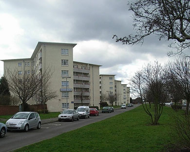 Shirestone Road flats