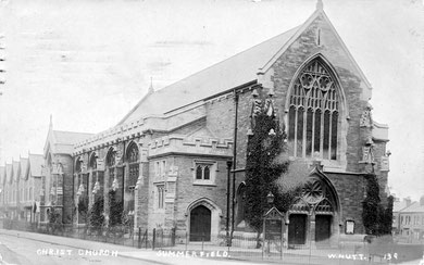 Christ Church - Image courtesy of Mac Joseph: Old Ladywood website - See Acknowledgements