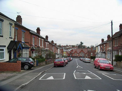 Slade Road School viewed from Hillaries Road