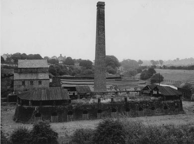 Smart's brickworks. Image reproduced with kind permission from King Edward VI Five Ways School Local History Digital Archive. See Acknowledgements for a link to the school website.