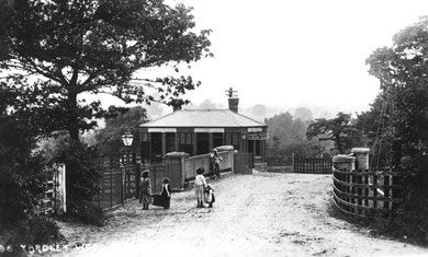 Yardley Wood Station. Grateful thanks for the use of this image to Mike Musson, Warwickshire Railways. See Acknowledgements for a link to his website.