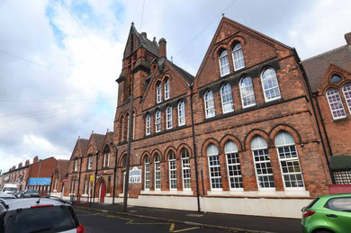 Nechells Primary School - photograph from the Birmingham Mail