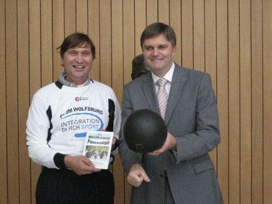 Uwe Schünemann (rechts) und Manfred Wille