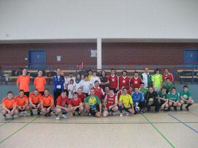 Fußballer beim NordstadtKirchenCup 2012