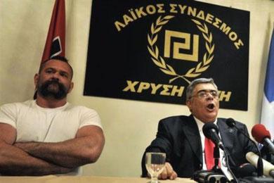 Fascistlederen Nikos Mihaloliakos