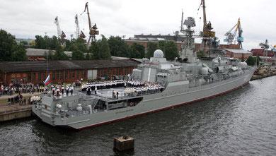 Ruslands flådebase i den syriske havneby Tartus