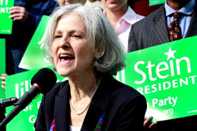 Jill Stein, kandidat for det Grønne Parti, Boston 2011