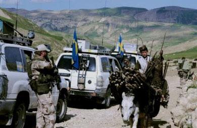 ISAF - soldater fra Sverige i Afghanistan