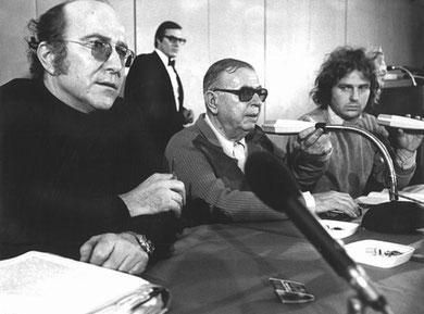 Advokat Claus Croissant, Jean-Paul Sartre og 68-oprøreren Daniel Cohn-Bendit