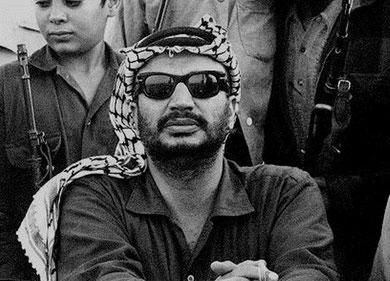 PLOs forhenværende formand Yassir Arafat (1929 - 2004)