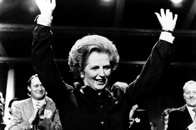 """Hjernladyen"" Margaret Thatcher"